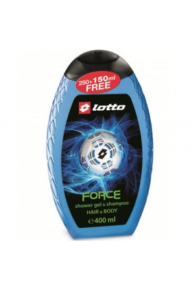 Lotto - Lotto Force Erkek Shower Gel , Shampoo 400 Ml