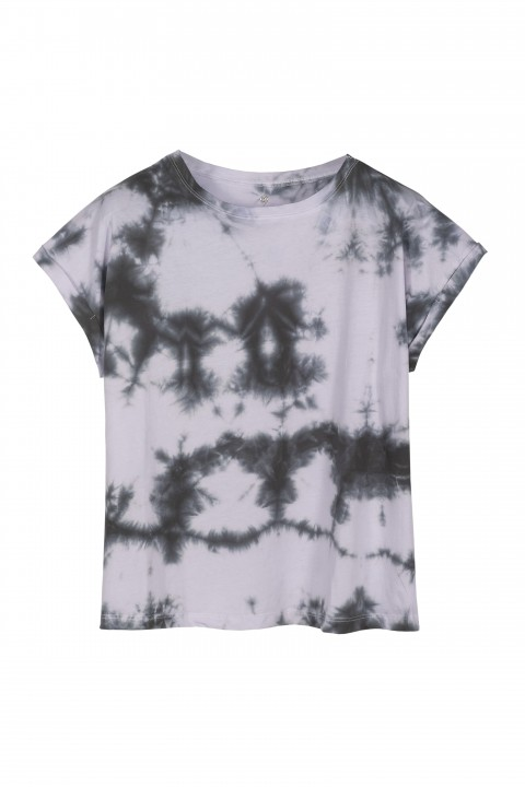 Basic & Co. Petrol Batik June T-Shirt