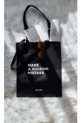 Smaller Studio - Make a F*ckng Mistake Tote Bag