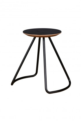 Studio Kali - Sama Stool/Table Black Sehpa/Tabure