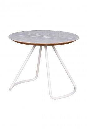 Studio Kali - Sama Coffee Table White Sehpa