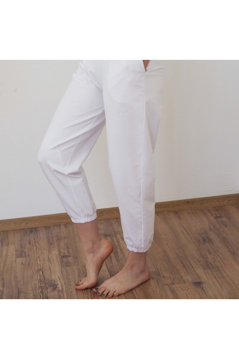 Fifty Pieces Slouchy Fit Joggers / Beyaz