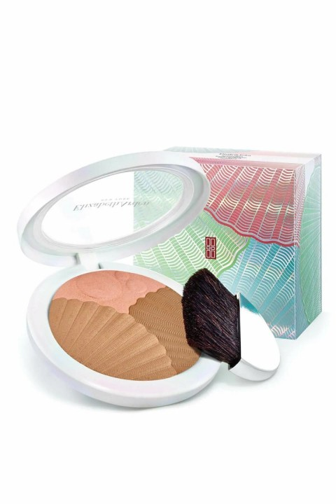 Elizabeth Arden Elizabeth Arden Sunkissed Pearls Bronzer and Highlighter No 01 - Bronzlaştırıcı Pudra