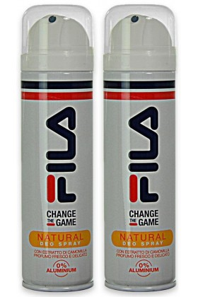 Fila - Fila Change The Game Natural 150 ml x 2 Deodorant Sprey Set