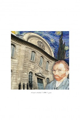 Yamisi - Vincent İn Istanbul Poster 30X30Cm