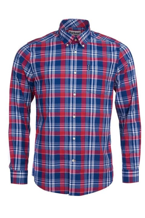 Barbour Barbour Country Check 10 Tailored Gömlek RE51 Red