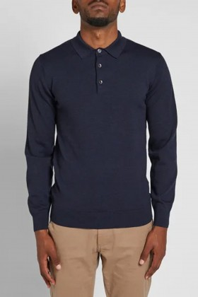 Barbour - Eastnor L/S Polo Kazak NY91 Navy