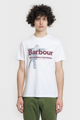 Barbour - Barbour Outdoors Tee WH11 White