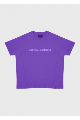 For Fun - Artifical Happiness Mor Oversize T-Shirt