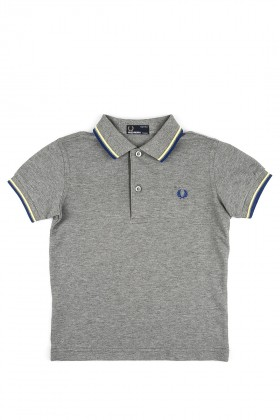 Fred Perry - 151 Kids Twin Tipped Shirt Sy1200