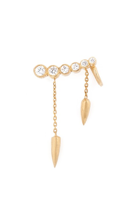 Zeyy Jewelry Spike Ear Cuff