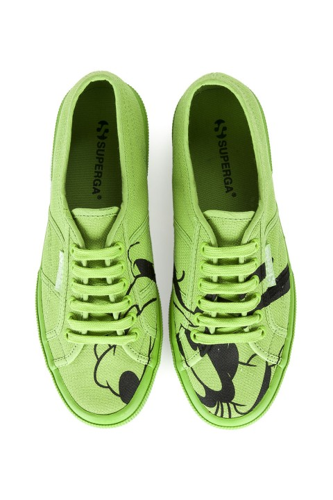 Superga CARTOON 2750-COTWPIPPO FLAVOR Pippo Green Superga