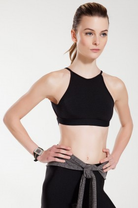 Anais Margaux Paris - Alize Siyah Sports Bra
